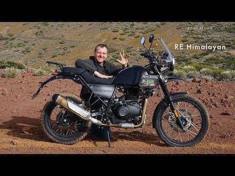 Royal Enfield Himalayan European POV Review (Tarmac, Offroad, Highway)