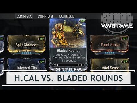 Warframe Playtest: Heavy Caliber Vs. Bladed Rounds [doingitraw]