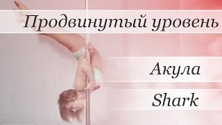 How to pole dance Shark - pole dance tutorial /Уроки pole dance - Акула (вар. Сигма)(Видео уроки по танцу на пилоне от Валерии Поклонской Трюк: Shark/Акула (вариация трюка Сигма) http://www.youtube.com/user/..., 2015-07-28T12:58:24.000Z)