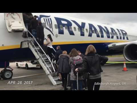 DAY 1 - Goodbye Edinburgh, Hello Copenhagen