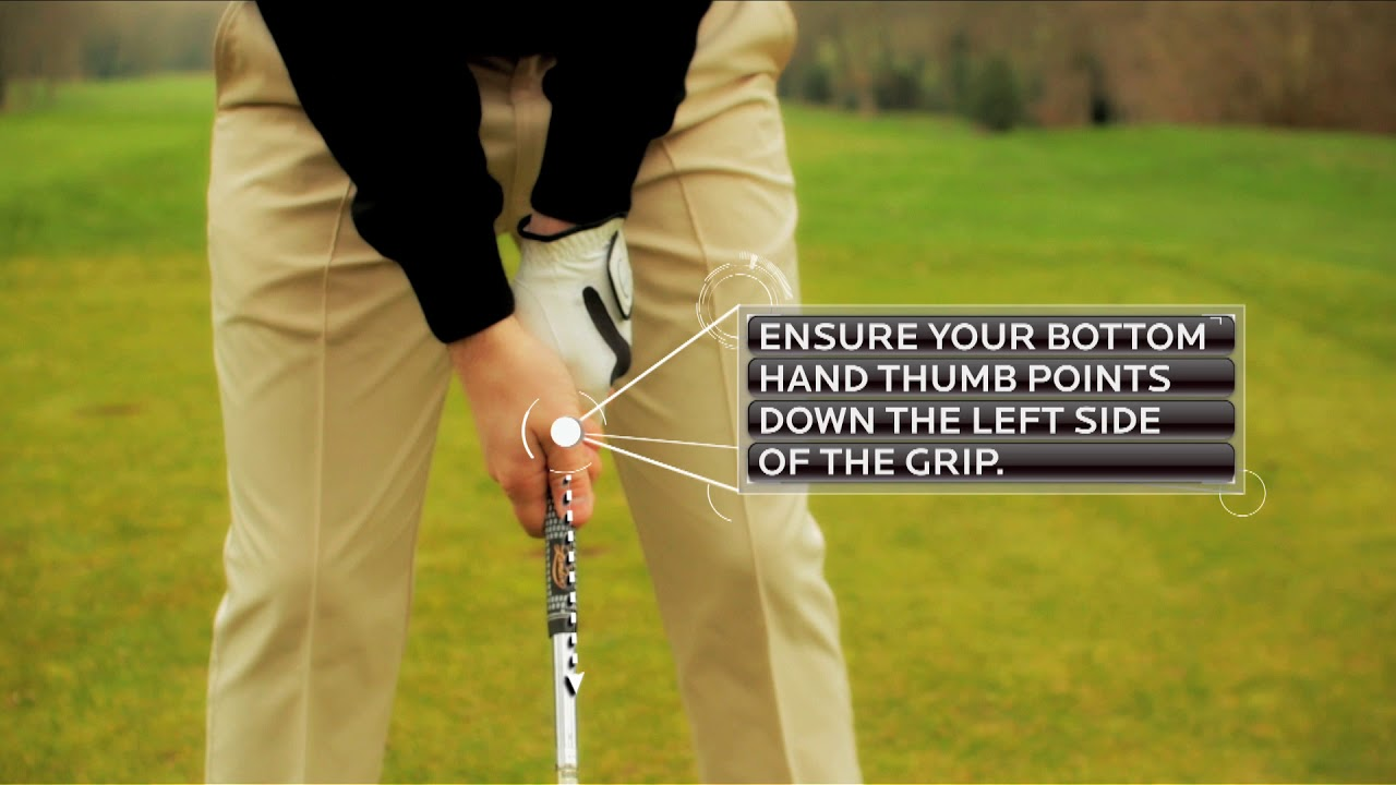 Proper Golf Grip Explained How To Hold A Golf Club Golf Insider Uk