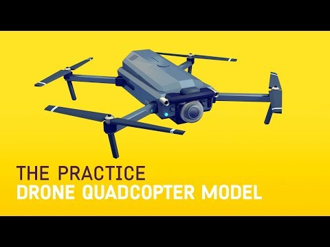 Model a Drone Quadcopter // The Practice 82