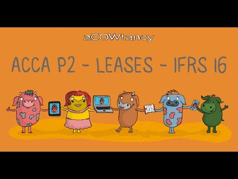 ACCA P2 Lease IFRS 16 'In substance' Fixed Payments: Great