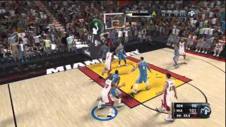 NBA 2K11 My Player: Lost by a buzzer beater