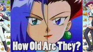 Pokemon Theory - Jessie And James Real Age?