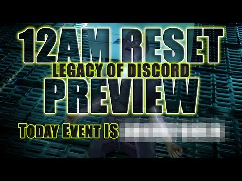 Legacy of Discord: Monster Hunter 24 May 12AM Reset