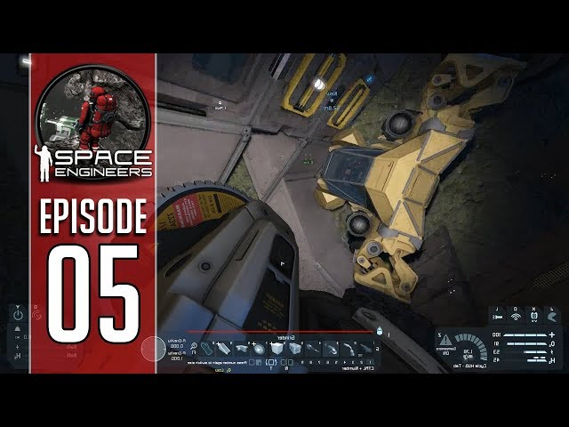 We Found a Vehicle!! Space Engineers Survival Episode 5