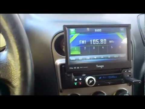 Tsaga SGA703 Moniceiver Autoradio (7 Zoll Display, DVD, Bluetooth, USB, SD)