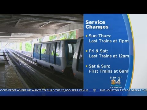 Changes Coming To Metrorail & Metromover Schedules