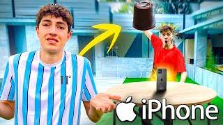 CREAMOS un PUÑO DE CHOCOLATE GIGANTE para Destruir su iPhone...