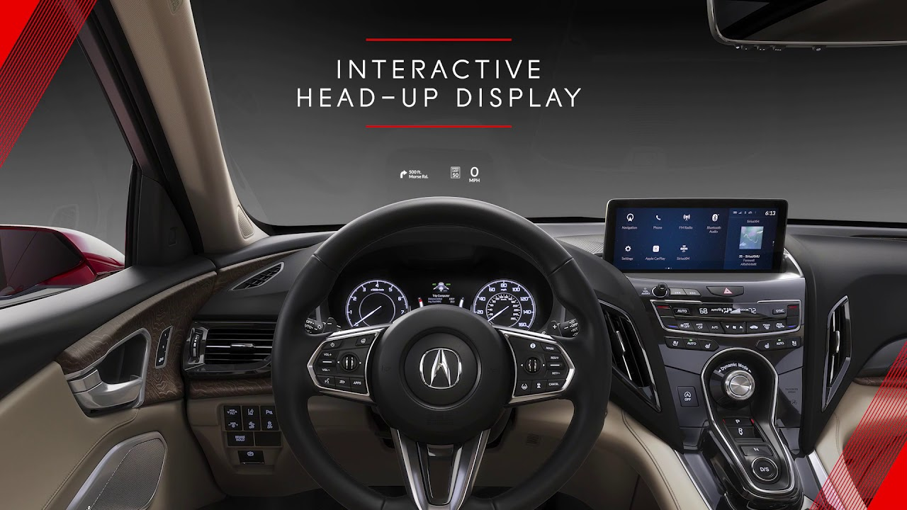 2019 Acura Rdx Prototype Interior Technology Overview Youtube