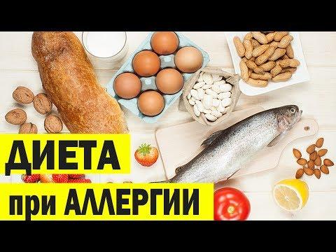 Гипоаллергенная диета. Разрешенные и запрещенные продукты