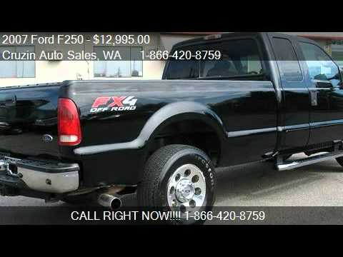2007 Ford F250 Lariat SuperCab Long Bed 4WD - for sale in Ta