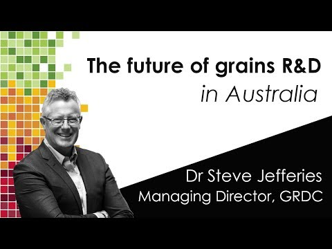 Future of grains research and development IN AUSTRALIA