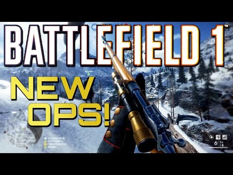 Battlefield 1: NEW Shock Operations And Silenced Sniper! (60 Fps Multiplayer Gameplay)