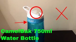 ✅  How To Use CamelBak 750ml Water Bottle Review