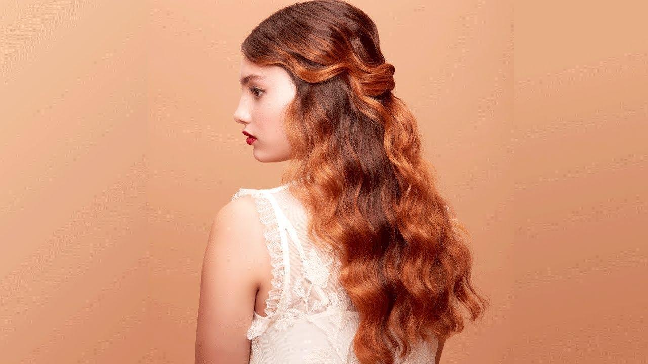 Aveda How To Holiday Half Pony Hairstyle Tutorial With Sarah Naslund Youtube