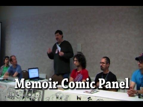 Memoir Comic Panel