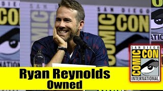 Funny Young Fan's Epic Clapback at Ryan Reynolds during DEADPOOL 2 Comic Con 2018 Panel