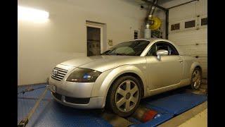 Totalcar Erőmérő: Audi TT, motorfelújítás után