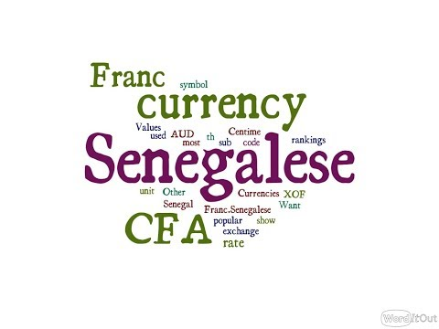 Senegalese Currency - CFA Franc