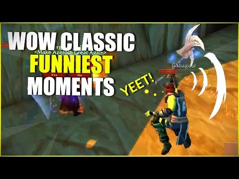 WoW Classic Beta: Funniest Moments (Ep.7)