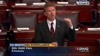 Rand Paul Closing Remarks - Patriot Act Filibuster (Clip)