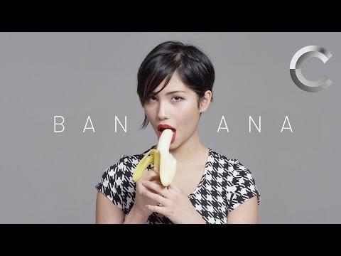 100 People Seductively Eat a Banana   Keep it 100   Cut