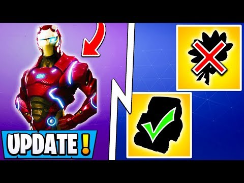 *NEW* Fortnite Update! | Deleted Free Item, Iron Man, Rewards for Everyone!