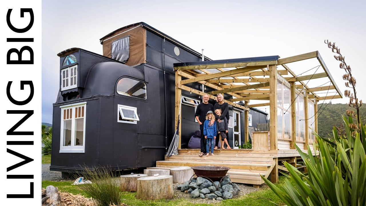 Amazing House Bus Home & Airbnb By The Beach
