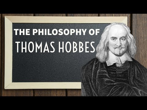 Thomas Hobbes political thought - दर्शनशास्त्र - Philosophy for UPSC in Hindi