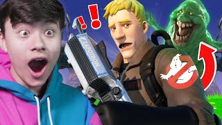 The GHOSTBUSTERS Challenge in Fortnite!