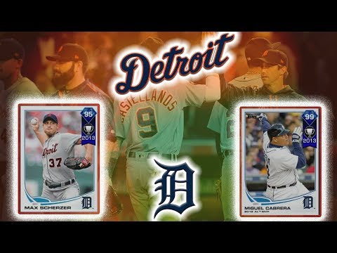 GYVI GOES *FULL RAGE* - DETROIT TIGERS ALL TIME BUILD |MLB 17 Diamond Dynasty|