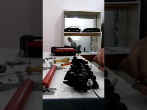 TROCA DO ROLO FUSOR DCP 8085