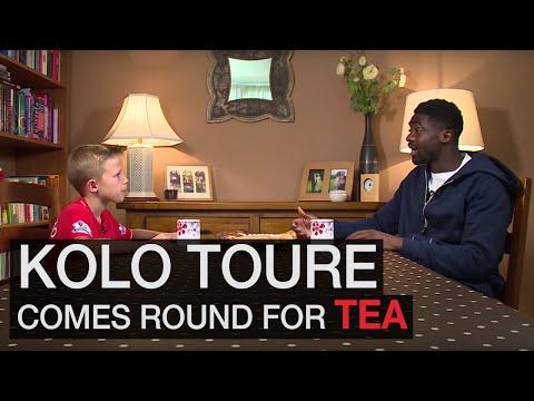 KOP KIDS: Kolo Toure reveals the secret to happiness