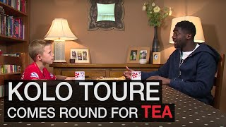 Repeat youtube video KOP KIDS: Kolo Toure reveals the secret to happiness