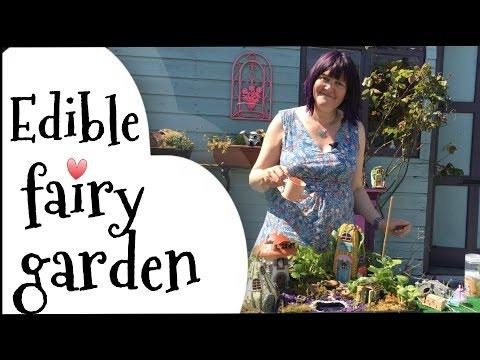 Fairy Garden Tutorial. An Edible Cute Mini Fairy Garden.