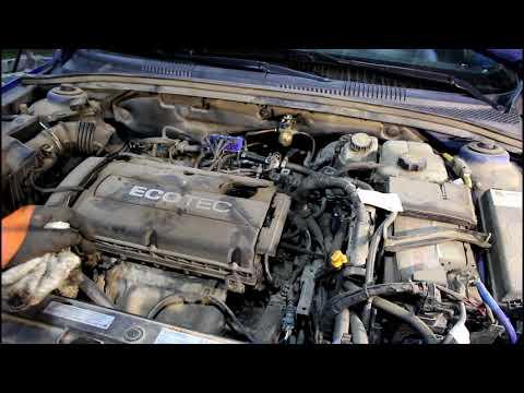 Замена масла в двигателе и фильтров Chevrolet Cruze Шевроле Круз 2011 года