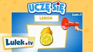 Owoce po angielsku dla dzieci * Lulek.tv