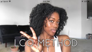 Keeping My Hair moisturized| LCO Method Ft. Crowns & Contours The Caribbean Coils Collection