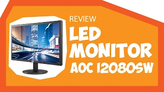 Unboxing Monitor LED AOC I2080SW IPS 19 5 quot Review
