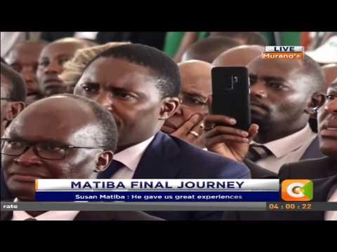 Raila Odinga's full speech at Matiba's memorial service