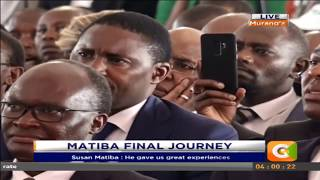 Raila Odinga's full speech at Matiba's memorial service