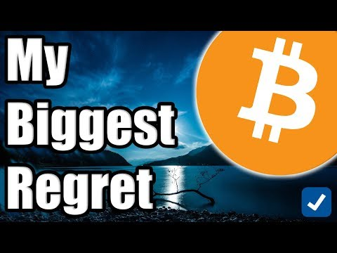 My Biggest Regret in Cryptocurrency [Bitcoin Perspective]