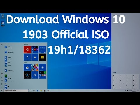 How to Download Microsoft Official Windows 10 1903 Full