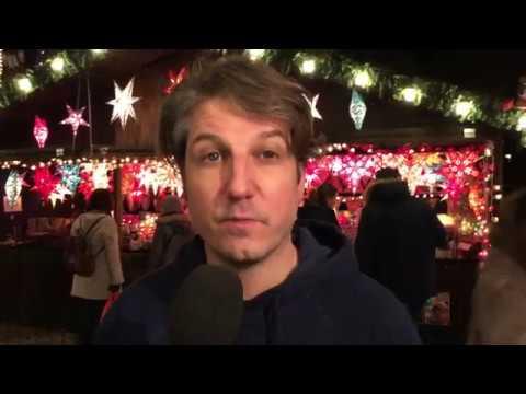 Der RNZ-Weihnachtsmarkt-Reporter: Abschiedstrinken