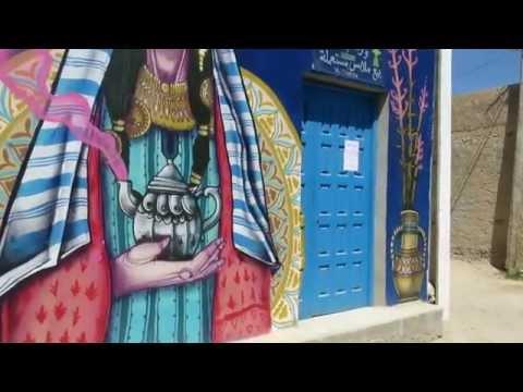 VLOG #1 Start with ART DjerbaHOOD ,Tunisia - Erriadh 2015