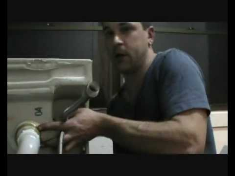 Changing A Washer On A Mixer Tap >> How to repair a leaking flick mixer tap | FunnyDog.TV