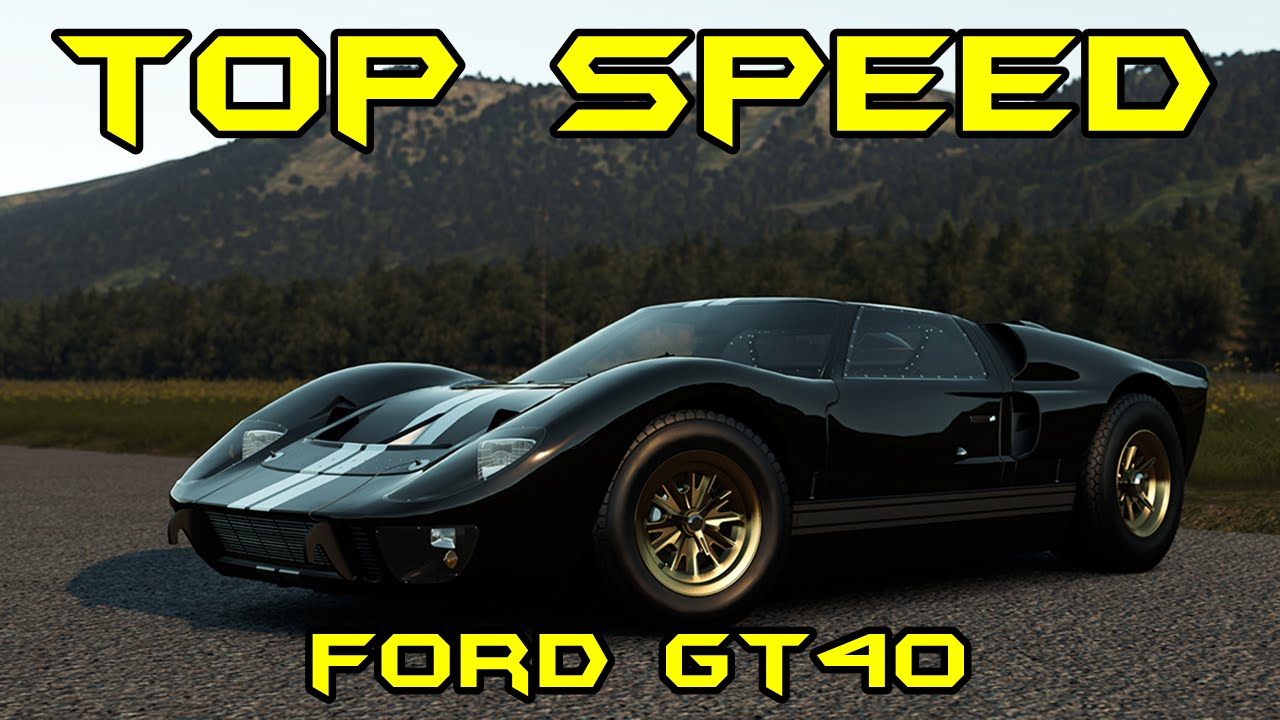 Fh Top Speed Ford Gt