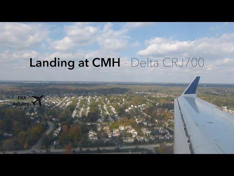 Delta CRJ700 Landing at Columbus OH